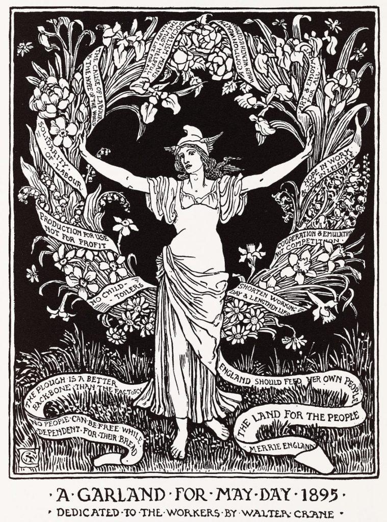 Walter Grane May Day